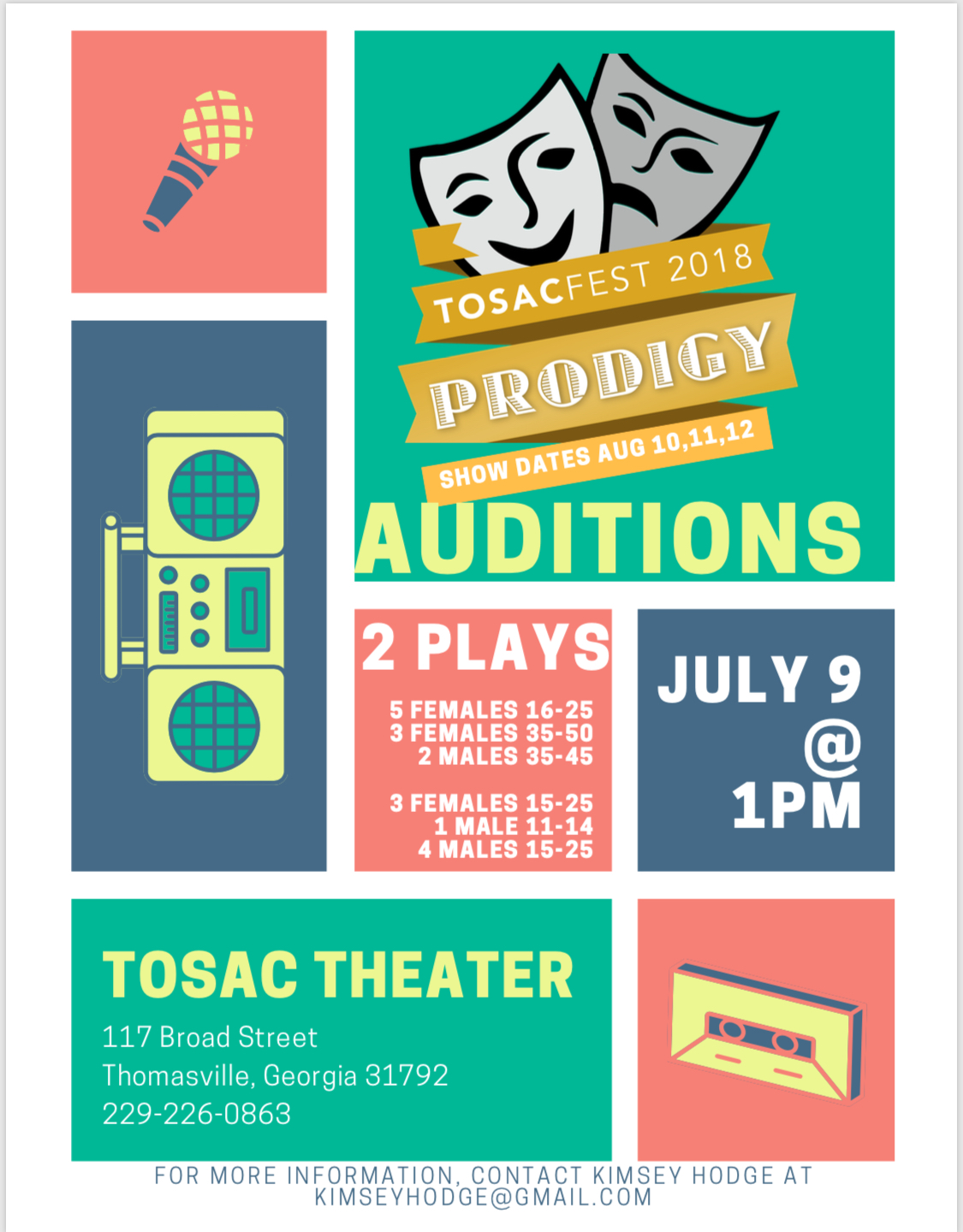 tosacfest auditions